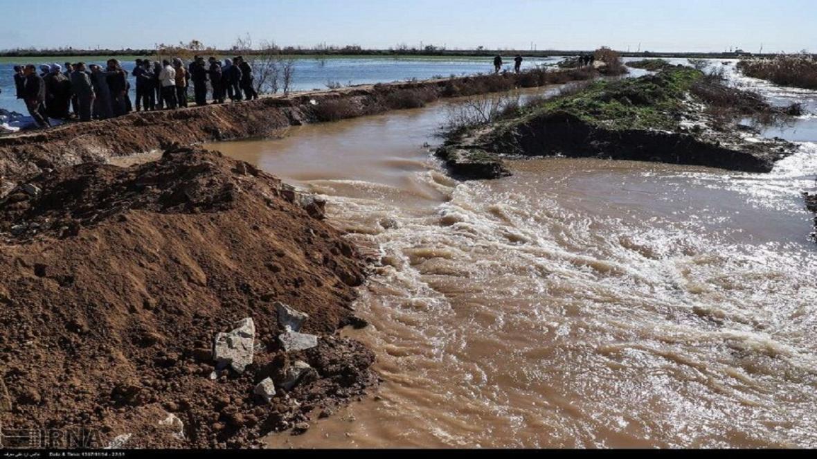 جزئیات خسارت سیل در اسفرورین
