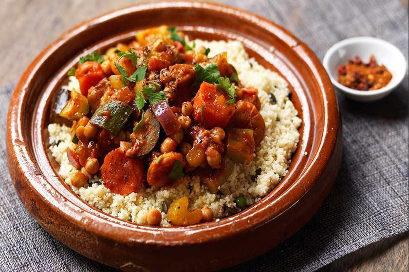 غذاهای محلی مراکش ؛ از تاگینه تا کله پاچه