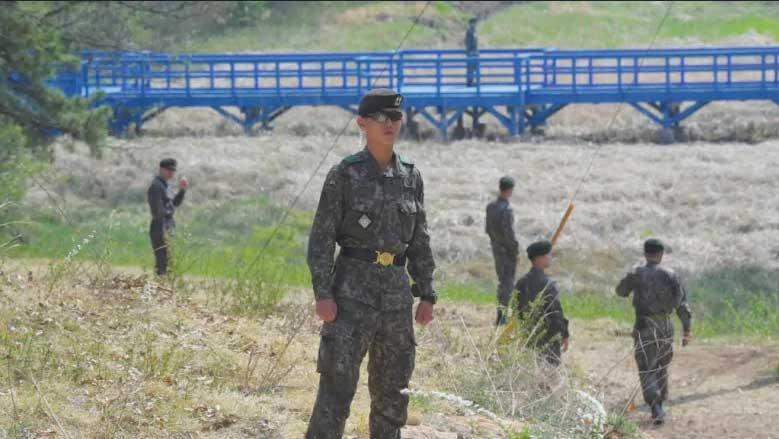 مرز دو کره صحنه تبادل آتش شد