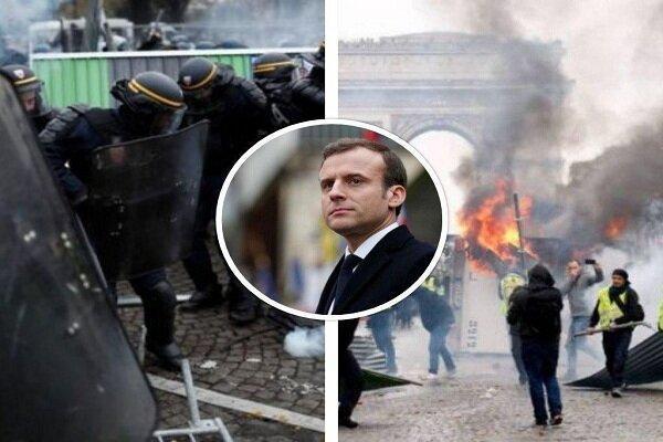 جلیقه زرد ها در فرانسه به خیابان های پاریس بازگشتند