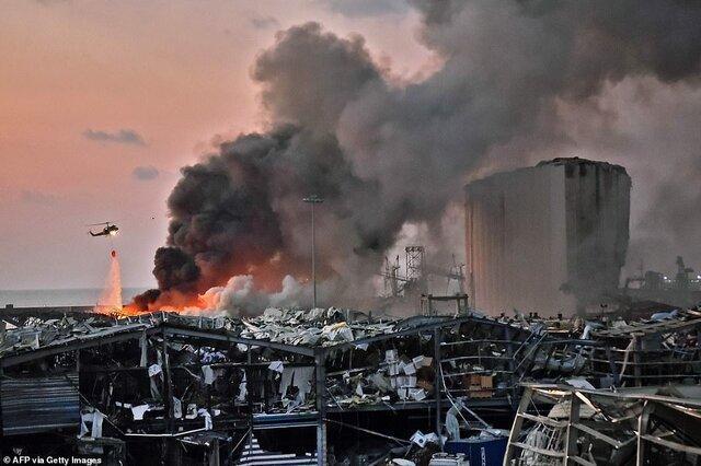 تیم تحقیقات درباره انفجار بیروت گزارش خود را تحویل داد