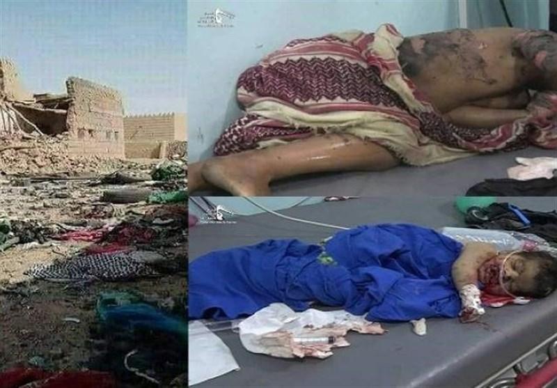 سازمان ملل جنایت سعودی در به شهادت رساندن زنان و بچه ها در استان الجوف یمن را محکوم کرد