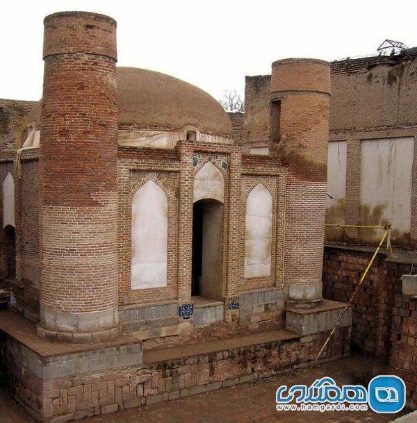 خاتمه بازسازی مقبره مجموعه تاریخی چهارمنار تبریز