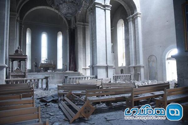 هشدار یونسکو پیرامون تخریب بناهای تاریخی در قره باغ