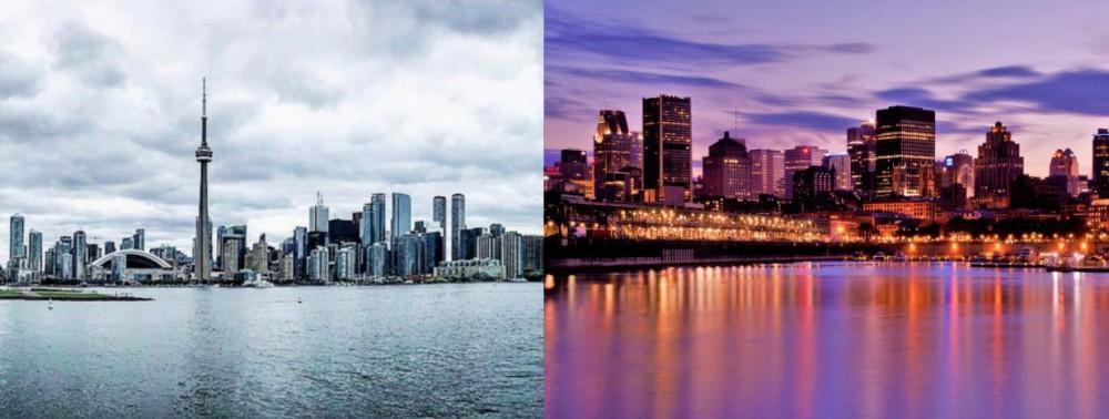 برای زندگی و مهاجرت مونترال بهتره یا تورنتو؟