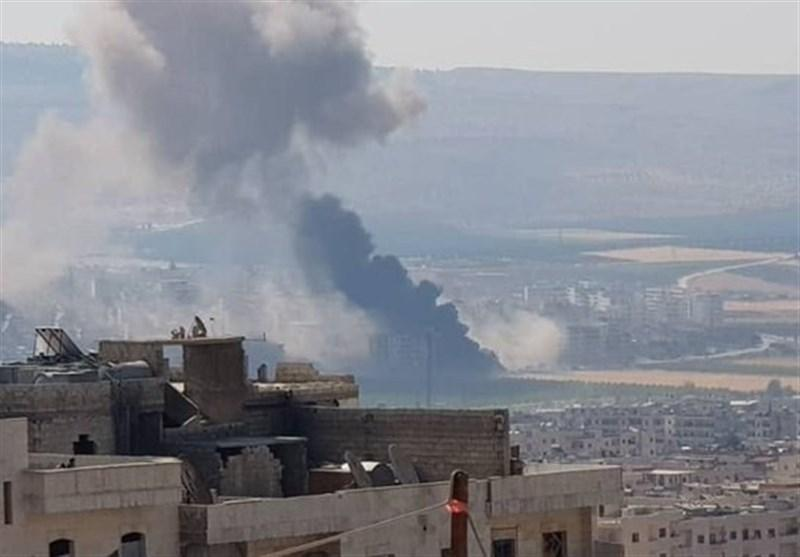 سوریه، انفجار خودروی بمبگذاری شده در عفرین، تازه ترین تحرک نظامیان تروریست آمریکا