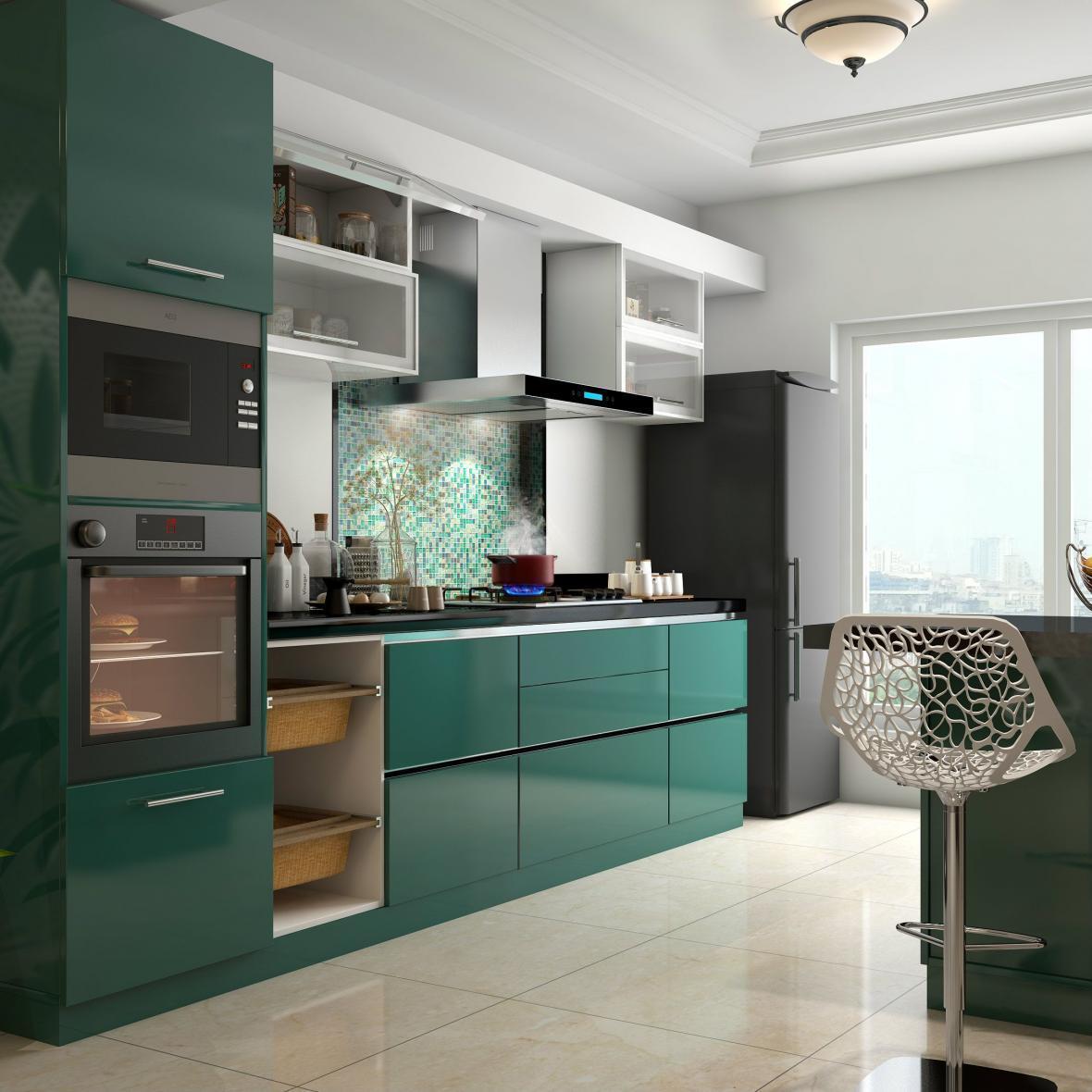 مقاله: بازسازی آشپزخانه به بهترین شکل