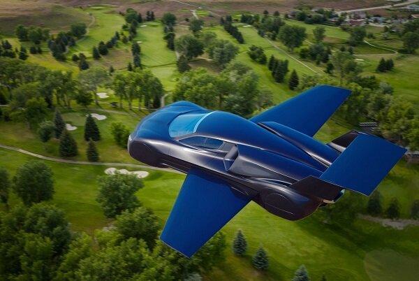 خودروی پرنده ای با سرعت پرواز 800 کیلومتر در ساعت ساخته می گردد