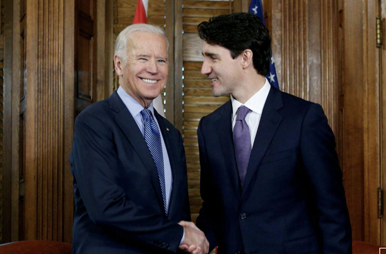 جزییات گفت و گوی بایدن با نخست وزیر کانادا