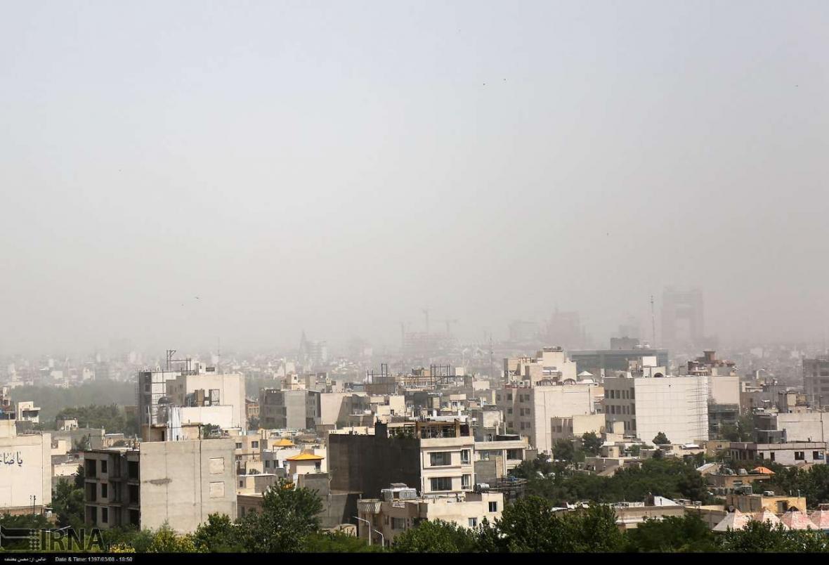 خبرنگاران هوای مشهد برای سومین روز پیاپی آلوده است
