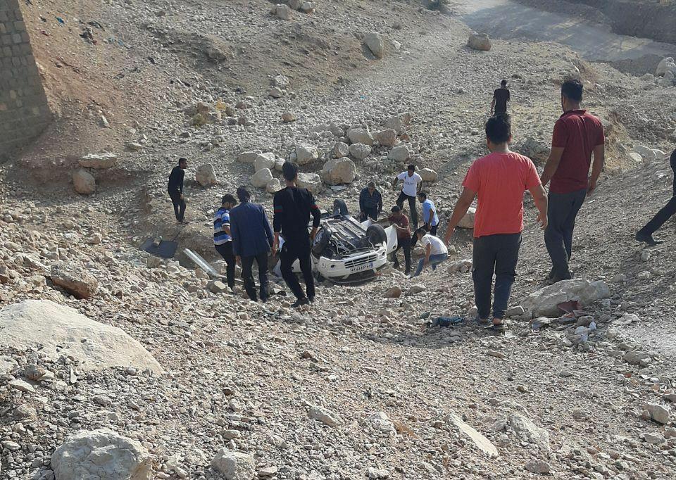 خبرنگاران هشت مصدوم در حوادث رانندگی ایذه