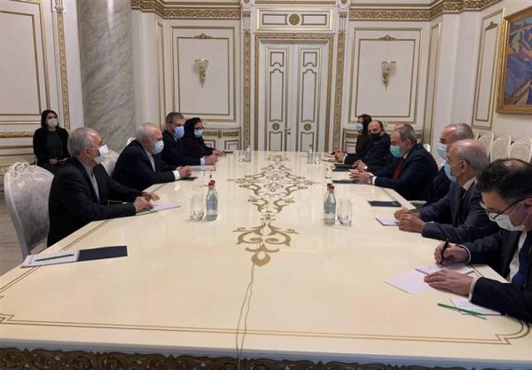 جزئیات ملاقات ظریف و نخست وزیر ارمنستان در ایروان