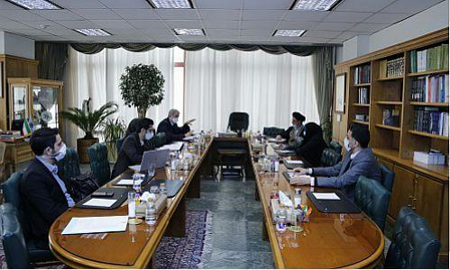 جلسه مشترک تعدادی از اعضای کمیسیون اصل نودم مجلس شورای اسلامی و بانک مرکزی