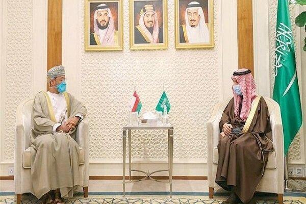 رایزنی وزیر خارجه عمان و سعودی