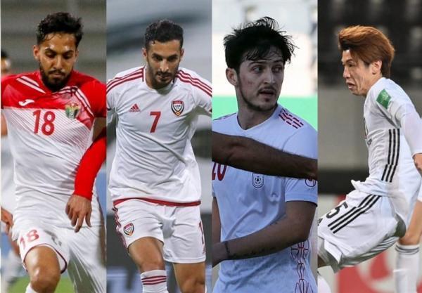 حضور آزمون در نظرسنجی AFC برای انتخاب بهترین بازیکن ملی هفته