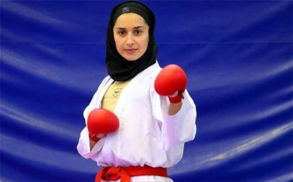 لیگ جهانی کاراته وان؛ مصدومیت طلا را از دختر ایرانی گرفت