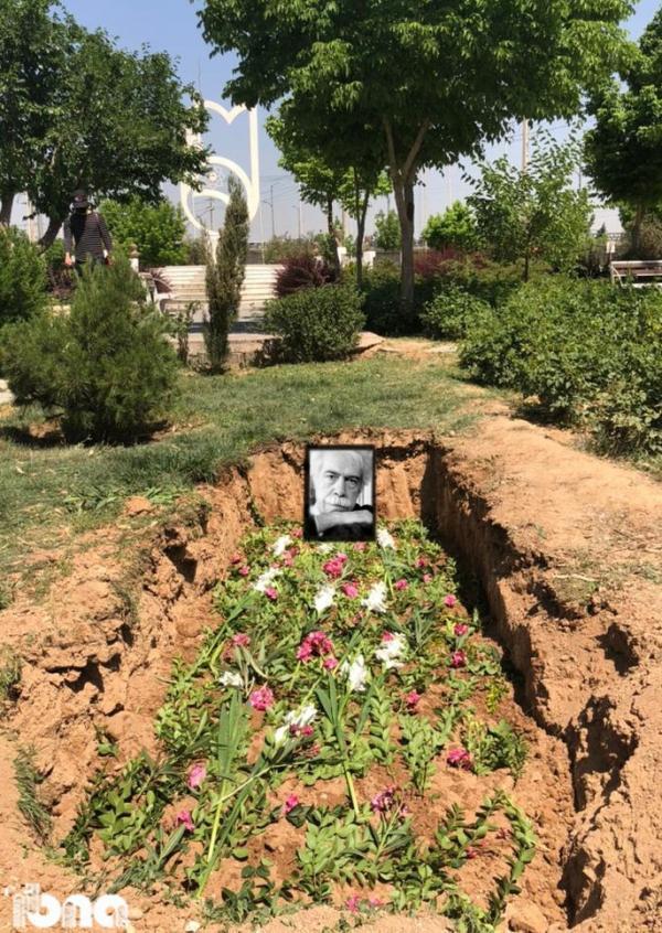 اوجی، نخستین مهمان ابدی باغ مزار مشاهیر در شیراز
