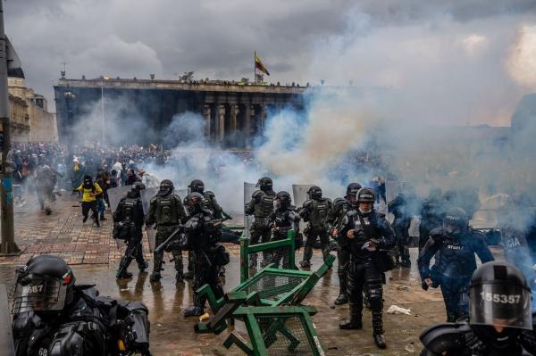 ادامه اعتراض های خونین در کلمبیا با 19 کشته