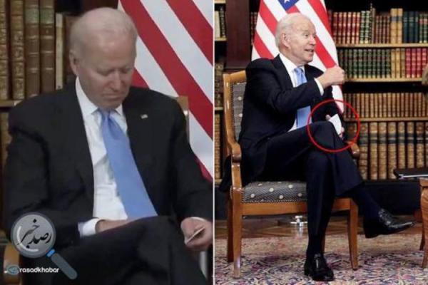 تصویر یادداشت جو بایدن جنجالی شد!