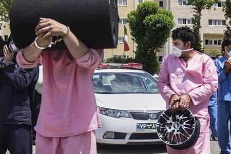 دزد 140 میلیون تومانی لوازم خودرو دستگیر شد