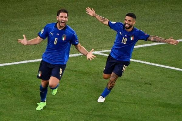 ایتالیا 3 - سوئیس صفر، آتزوری همچنان بی نقص در یورو