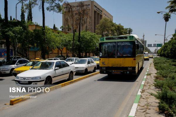 اجرایی شدن افزایش نرخ کرایه در شیراز