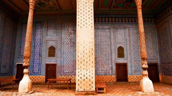 کاخ تاریخی توشهوولی در خیوه ازبکستان