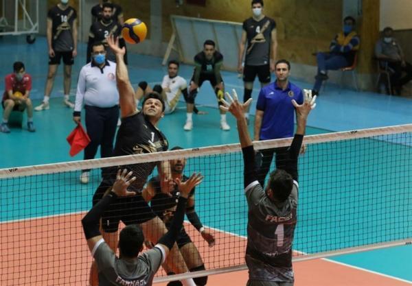لیگ برتر والیبال، هورسان رامسر از سد شهرداری ورامین گذشت