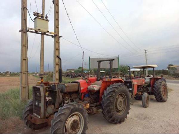 طراحی تراکت: 1135 دستگاه ماشین آلات کشاورزی فاقد پلاک در بهشهر شناسایی شد، پلاک گذاری 400 دستگاه تراکتور