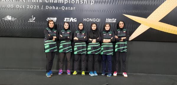 صعود زنان پینگ پنگ ایران به جمع 10 تیم برتر آسیا ، سهمیه قهرمانی جهان کسب شد